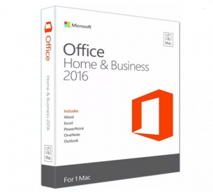 Microsoft Office Mac Home and Business BOX